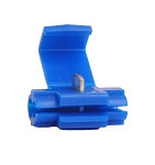 18-14 Instant Tap Connectors - BLUE - With Stop