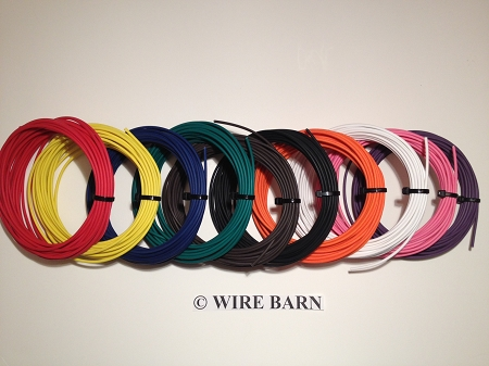 Terrific 10 Pack 18 Gage Gxl Wire Ten 10 Colors 25 Foot Each Color Wiring Digital Resources Indicompassionincorg