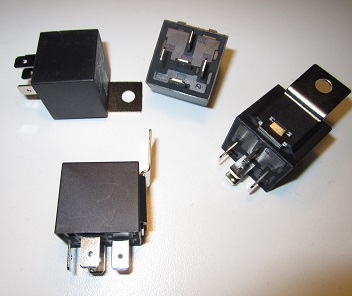 30 Amp Automotive Relay - 5 Pin (Metal Tab) A Pin Automotive Relay Wiring on