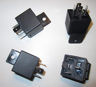 30 Amp Automotive Relay - 5 Pin (Plastic Tab) A Pin Automotive Relay Wiring on