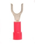 22-18 GA #10 Vinyl Insulated Fork Terminal - 25 Pack