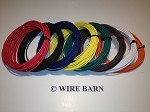 8 Pack 14 Gage GXL Wire                               -                                                EIGHT (8) Colors, 25 Foot Each Color:                                                            Black,Red,Blue,Green,Yellow,Brown, White, Orange