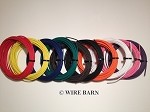 10 Pack 14 Gage GXL Wire                            -                                  TEN (10) Colors, 25 Foot Each Color:                                              Black,Red,Blue,Green,Yellow,Brown, White, Orange, Pink, Violet
