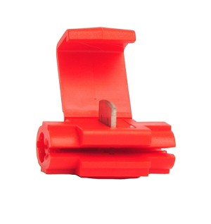 22-16 INSTANT TAP - RED, WITH STOP - 100 Pack