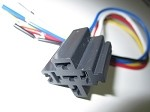 Automotive Relay Socket With 12