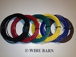 6 Pack of 18 Gage MTW Machine Tool / AWM / Hookup Wire                              -                                                SIX (6) Colors, 25 Foot Each Color:                                               Black, Red, Blue, Green, Yellow, Brown